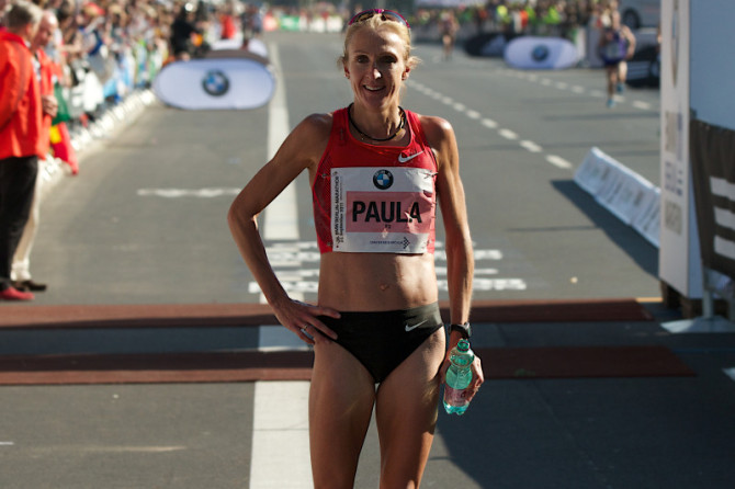 Paula Radcliffe, l'ultimo sforzo di una carriera incredibile