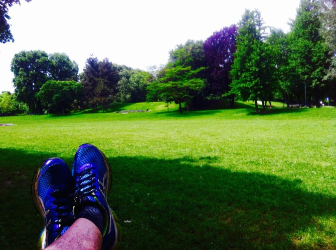 Great place to run: Torino, Parco Ruffini