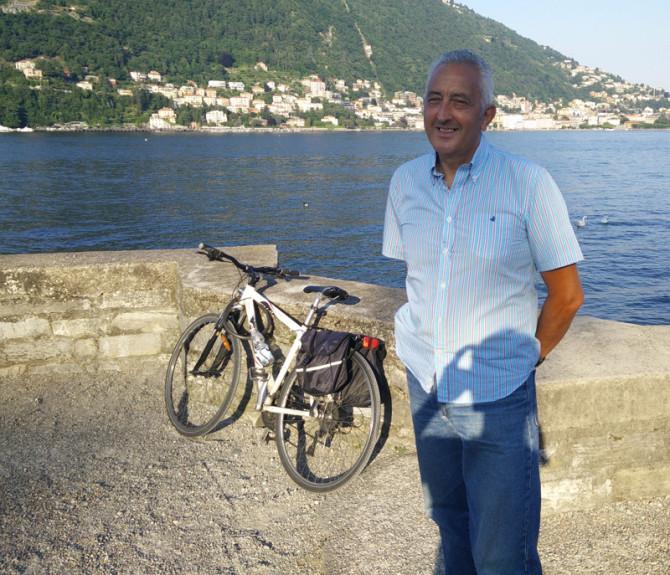 Giro d'Italia in bici in solitaria: Franco Muratore