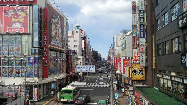 Tokyo e i suoi colori