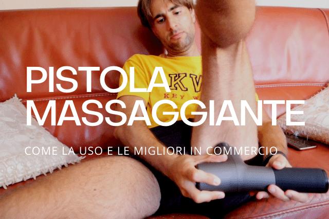La pistola massaggiante